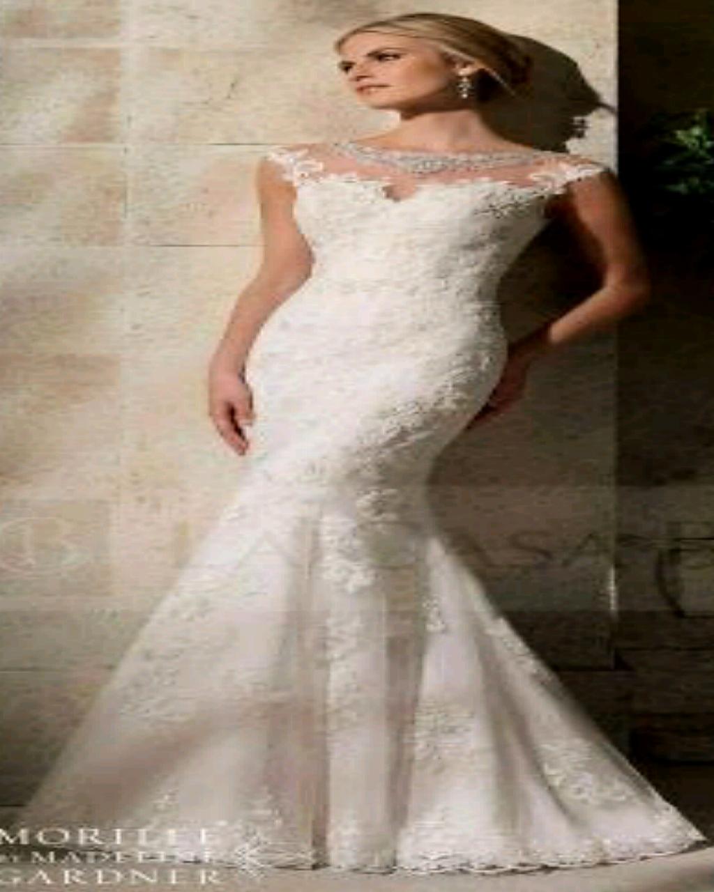 Vestido novia sirena usado